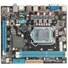 Материнская плата Esonic H110NCL3. Socket 1151. IntelH110. 2xDDR3-1600. D-SUB+HDMI. 1xPCI-Ex16. 4xSATA3. 8 Ch Audio. Lan. (4+2)xUSB2.0. (2+2)xUSB3.0