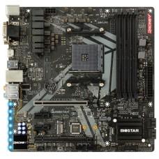 Материнская плата Biostar B450GT3, Socket AM4, AMD B450, 4xDDR4-2933, D-SUB+DVI-D+HDMI, 2xPCI-Ex16, 2xPCI-Ex1, 6xSATA3(RAID 0/1/10), 1xM.2, 8 Ch Audio, GLan, (2+4)xUSB2.0, (3+2)xUSB3.1, 1xUSB3.1 Type-C, 1xPS/2, mATX, RTL