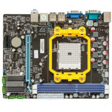 Материнская плата ITZR A55F1AL2, FM1 , AMD A55, mATX, 2xDDR3, 1xPCI-Ex16, 1xPCI-Ex1, 4xSATA2, 10/100, 6CH, VGA, 4xUSB2.0, 1x COM RTL {20}