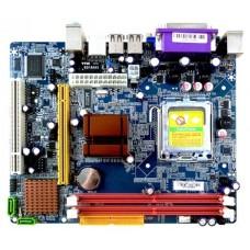 Материнская плата Esonic G31CEL2. Socket 775. IntelG31+ICH7. 2xDDR2-800. D-SUB. 1xPCI-Ex16. 1xPCI. 4xSATA2. Lan. (6+2)xUSB2.0. COM. mATX. OEM