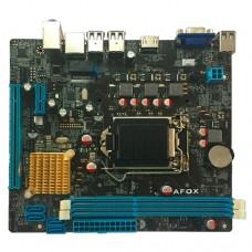 Материнская плата AFOX IH61-MA5 (S1155. H61. mATX. PCI-E x16/1xPCI-E x1. 2xDDR3. 4xSATAII. ALC662. LAN 100. HDMI. VGA. 4xUSB2.0) IH61-MA5