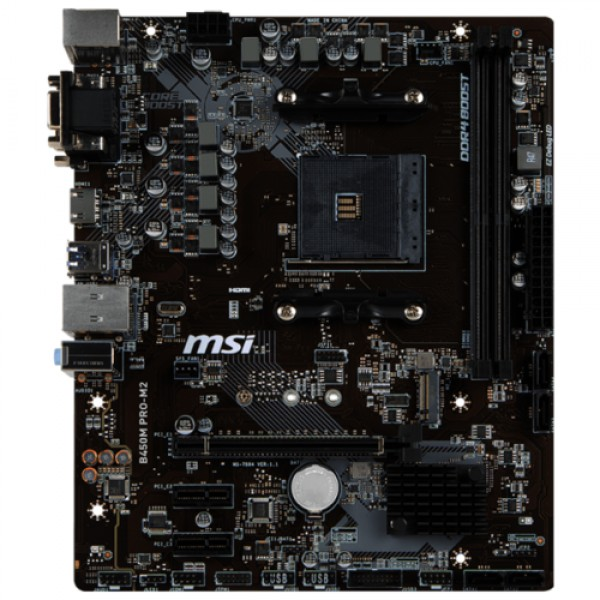 Материнская плата MSI B450M PRO-M2 MAX B450MPRO-M2MAX