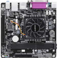 Материнская плата GIGABYTE GA-E2500N [2xDDR3. Radeon HD 8240. USB3.1. VGA. HDMI. COM. LPT. Mini-ITX]