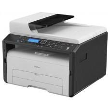 Мфу Ricoh SP 220SNw . картридж 700стр.. (копир-принтер-сканер. adf. 23стр./мин.. 1200x600dpi. lan. wifi. nfc. a4) 408029