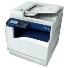 МФУ Xerox DocuCentre SC2020 (SC2020V_U), цветной светодиодный принтер/сканер/копир, A3, 20 (12 A3) стр/мин, 1200x2400 dpi, 512 Мб, DADF110, дуплекс, подача: 350 лист., вывод: 250 лист., Ethernet, USB, цветной ЖК-дисплей (в комплекте к-жи: черный 9000 стр,