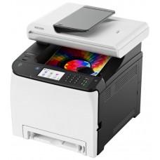 МФУ Ricoh SP C260SFNw (копир-принтер цветн.-сканер. факс. ADF. duplex. 20стр./мин.. 2400x600dpi. LAN. WiFi. A4) 408142