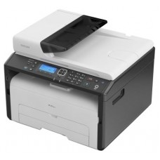 Лазерное мфу Ricoh sp 277sfnwx (а4. 23 стр/мин. копир/принтер/сканер/факс. автоподатчик. 128мб. gdi. usb2.0. wi-fi. nfc.cтарт.картридж) 408159