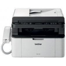 МФУ Brother MFC-1815R лазерный принтер/сканер/копир/факс/телефон, A4, 20 стр/мин, 2400x600 dpi, 16 Мб, ADF10, подача: 150 лист., вывод: 50 лист., USB, ЖК-панель (старт.к-ж 1000 стр)