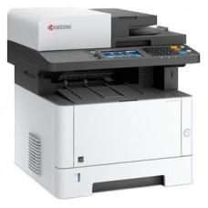МФУ Kyocera Ecosys M2735DN, лазерный принтер/сканер/копир/факс A4, 35 стр/мин, 1200x1200 dpi, 512 Мб, RADF50, дуплекс, подача: 350 лист., вывод: 150 лист., Post Script, Ethernet, USB, картридер, ЖК-панель 17,8 см (Старт.к-ж 1000 стр. Использует к-ж TK-120