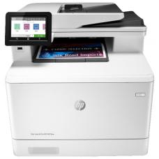 МФУ лазерный, HP Color LaserJet Pro M479fnw (W1A78A), , принтер/сканер/коптр/факс, A4 Duplex, Net, WiFi белый/черный