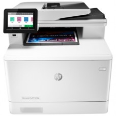 МФУ HP LaserJet Pro M479fdn, (W1A79A), принтер/сканер/копир/факс, A4 Duplex, Net, WiFi белый/черный