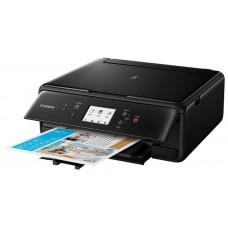 Мфу Canon Pixma TS6140 black (струйный. принтер. сканер. копир. 4800dpi. bluetooth. wifi. airprint. duplex. сенсорный дисплей) 2229C007