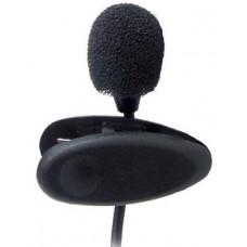 Микрофон RITMIX RCM-101 Петличный, конденсаторный, всенаправленный, 20-20000Гц, 2.2кОм, 65дБ, кабель 1.2м, разъем 3.5мм, 10г, в комплекте держатель-клипса, ветрозащита