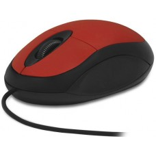 Мышь CBR CM 102 Red, оптика, 1200dpi, офисн., провод 1,3м, USB, CM 102 Red