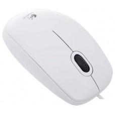 Мышь LOGITECH B100 WHITE