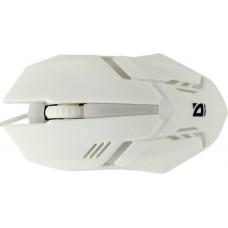 Мышь оптическая Defender Сyber MB-560L 7 цветов. 3 кнопки. 1200 dpi. USB. белый 52561