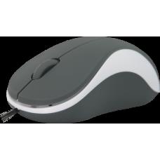 Мышь Defender accura ms-970. 1000 dpi. серая/белая 52970