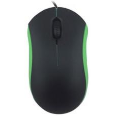 Компьютерная мышь проводная Ritmix rom-111 black/green ROM-111 Green