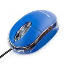 Мышь Гарнизон GM-100B, USB, чип- Х, синий, 1000 DPI, 2кн.+колесо-кнопка