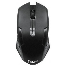 Мышь Exegate SH-9025  (black, optical,  3btn/scroll, 1000dpi, USB), Color box