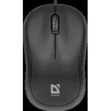 Мышь проводная  Defender Patch MS-759 черный,3 кнопки, 1000 dpi  52759