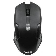 Мышь Exegate SH-9025L2 (black, optical, 3btn/scroll, 1000dpi, USB, шнур 2,2м), Color box