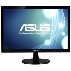 Монитор 18.5 ASUS VS197DE [18.5''. TN. 1366x768. 5 мс. 200 кд/м2. 90/50. VGA. чёрный]