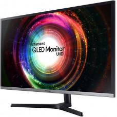 Монитор Samsung 31.5'' U32H850UMI серебристый/черный VA LED 4ms 16:9 HDMI матовая HAS Pivot 3000:1 250cd 178гр/178гр 3840x2160 DisplayPort Ultra HD USB 8.8кг
