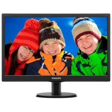 Монитор Philips 19.5'' 203v5lsb26 (10/62) черный 203V5LSB26/10