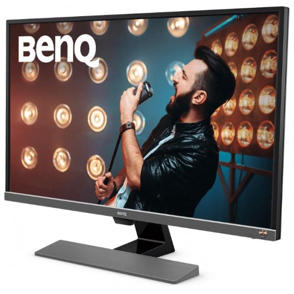 Монитор Benq EW3270U 4K 31.5'' черный VA LED 4ms 16:9 HDMI M/M матовая 300cd 3840x2160 DisplayPort Ultra HD 9H.LGVLA.TSE