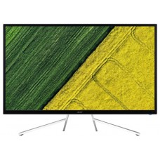 Монитор Acer 31.5'' ET322QKwmiipx (16:9)/VA(LED)/3840x2160/4ms/300nits/3000:1/2xHDMI(2.0) + DP(1.2) + Audio Out/2Wx2/DP/HDMI FreeSync/White with silver UM.JE2EE.013