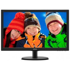 Монитор 21.5'' Philips 223v5lhsb2/00(01) black 1920x1080. 5ms. 200 cd/m2. 1000:1 (dcr 10m:1). d-sub. hdmi. vesa 223V5LHSB2/00(01)