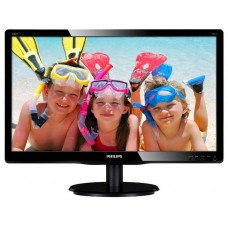 Монитор LCD PHILIPS 19,53'' 200V4QSBR/00(01) Black {MVA, LED, LCD, 1920x1080, 8 ms, 178°/178°, 250 cd/m, 10M:1, +DVI}