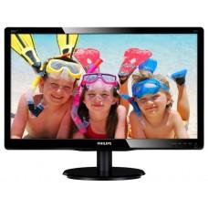 Монитор 19.5'' Philips 200v4lab2/00(01) gl.black 1600x900. 5ms. 250 cd/m2. 1000:1 (dcr 20m:1). d-sub. dvi. 2wx2. headph.out. vesa 200V4LAB2 (00/01)