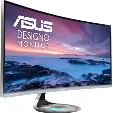 Монитор LCD 34'' ASUS Designo Curved MX34VQ 34'' UWQHD (3440x1440) Monitor, VA, Harmon Kardon, speakers, Qi wireless charging, Flicker free, Low Blue Light, TUV certified