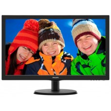 Монитор Philips 21.5'' 223v5lhsb2 w-led 1920x1080 16:9 5ms vga hdmi 20m:1 90/60 250cd black 223V5LHSB2/01