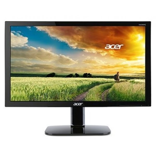 Монитор Acer KA240HBID 24'' black (LED. 1920X1080. 5MS. 170/160. 250 CD/M. 100M:1. +DVI. +HDMI) UM.FX0EE.005