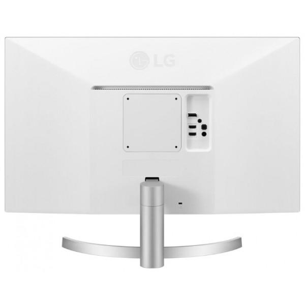 Монитор 27'' LG 27UL500-W White IPS, 3840x2160, 5ms, 300 cd/m2, 1000:1 (Mega DCR), DP, HDMI*2, Headph.out, vesa