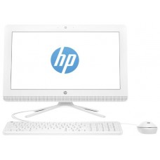 Моноблок HP 20 20-c401ur 4GU78EA Celeron J4005(2.0GHz)/ 4GB/500Gb/DVD-RW/19.5'' (1600*900)/WiFi/KB+mouse/DOS/ Snow White 4GU78EA