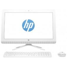 Моноблок HP 22-c0009ur 21.5''(1920x1080)/Intel Celeron J4005(2Ghz)/4096Mb/500Gb/DVDrw/Int:Intel HD Graphics 600/Snow White/DOS + USB KBD. USB MOUSE 4GV07EA