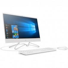 Моноблок HP 22-c0026ur AiO 21.5''(1920x1080)/Intel Core i3 8130U/8192Mb/128PCISSD+1000Gb/noDVD/Int:Intel HD Graphics 620/Snow White/W10 4GS77EA