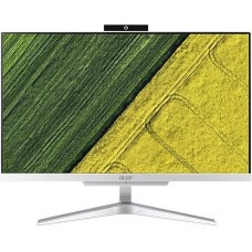 Моноблок Acer Aspire C24-865 23.8'' Full HD i5 8250U (1.6)/4Gb/1Tb 5.4k/UHDG 620/CR/Windows 10/GbitEth/WiFi/BT/65W/клавиатура/мышь/Cam/серебристый DQ.BBUER.001