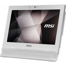 Моноблок MSI Pro 16T 7M-051XRU 15.6''(1366x768 (матовый))/Touch/Intel Celeron 3865U(1.8Ghz)/4096Mb/500Gb/noDVD/Int:Intel HD/Cam/BT/WiFi/white/DOS 9S6-A61612-051