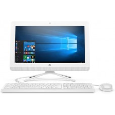 Моноблок HP 20-c435ur AiO   19.5''(1920x1080)/Intel Core i3 7130U(3Ghz)/8192Mb/1000Gb/noDVD/Int:Intel HD Graphics 600/Cam/BT/WiFi/war 1y/4.4kg/Snow White/W10 + USB KBD, USB MOUSE