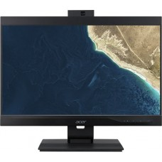 Моноблок ACER Veriton Z4860G  All-In-One 23,8'' FHD(1920x1080)IPS, i3 9100, 4GbDDR4, 128 GB SSD, Intel UHD Graphics 630, DVD-RW, WiFi+BT5,USB KB&Mouse, black, Win 10Pro 3Y carry in