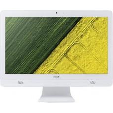 Моноблок Acer Aspire C20-720 19.5'' HD+ Cel J3060 (1.6)/4Gb/500Gb 5.4k/HDG400/CR/Free DOS/GbitEth/WiFi/BT/45W/клав/мышь/Cam/белый/1600x900 DQ.B6XER.014 DQ.B6XER.014