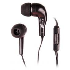 Наушники с микрофоном Ritmix rh-004m черный 15119163