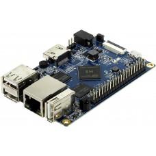 Orange Pi PC /SD card 8Gb/OS Android/кабель/BOX Orange Pi PC