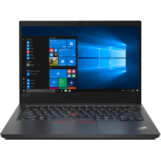 Ноутбук Lenovo ThinkPad  E14-IML  14'' FHD (1920x1080)IPS, I3-10110U(2.10 GHz), Intel UHD Graphics, 8GB DDR4, 256GB SSD , No ODD, WiFi, BT, FPR, no WWAN, 720P, 3 cell, DOS, black, 1.75kg, 1y.c.i