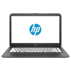 Ноутбук HP Stream 14-ax018ur 14''(1366x768)/Intel Celeron N3060(1.6Ghz)/4096Mb/32Gb SSDGb/noDVD/Int:Intel HD Graphics/Cam/BT/WiFi/41WHr/Smoke Grey 2EQ35EA